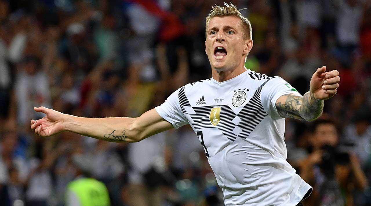 2-1 Atas Swedia, Toni Kroos Selamatkan Harapan Jerman di Piala Dunia