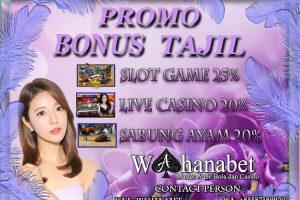 Promo Bonus Tajil