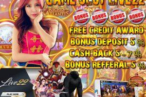 Permainan Slot Live22 Online Memiliki Keunggulan Kemenangan Besar